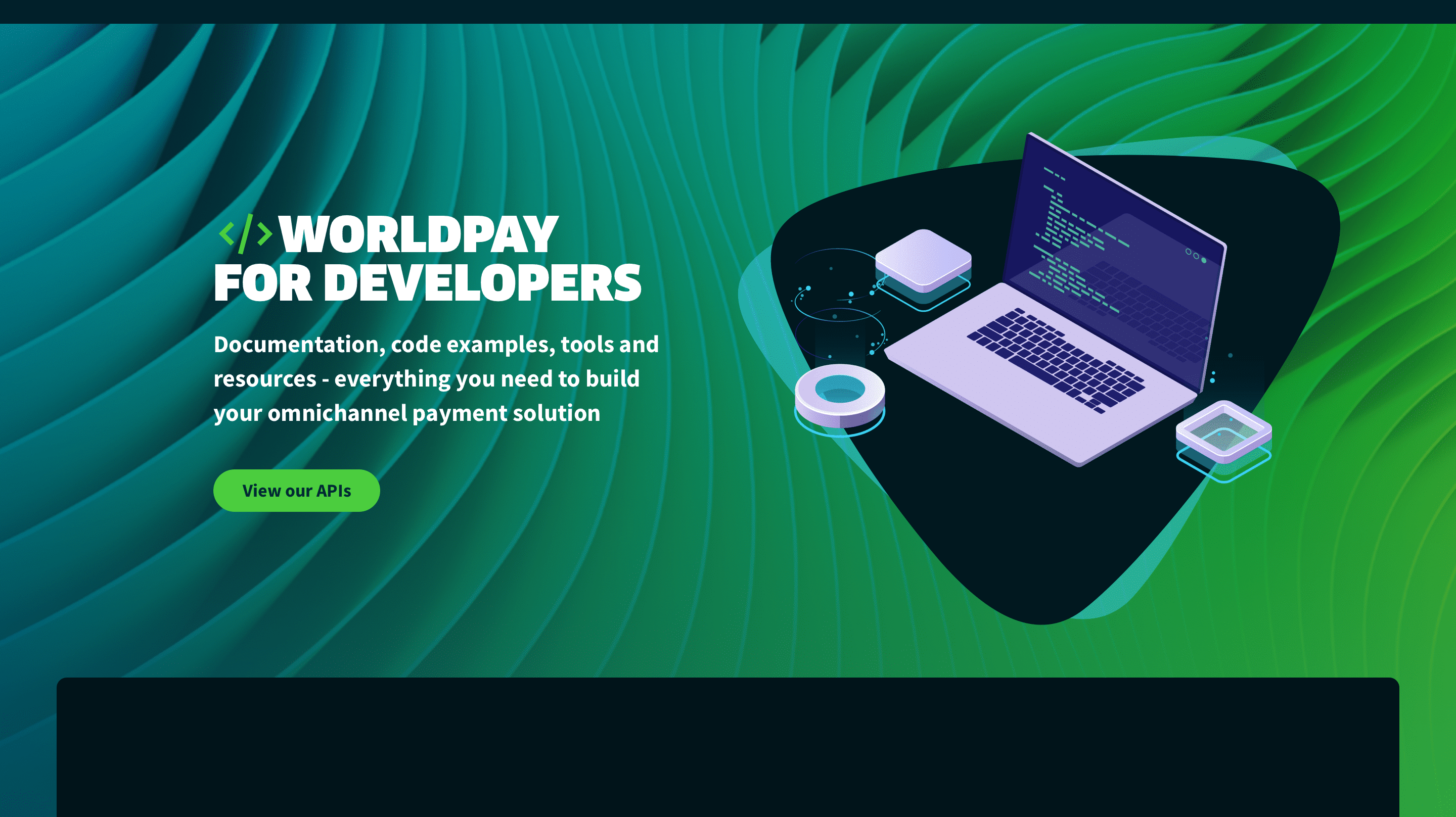 Introducing Worldpay for Developers